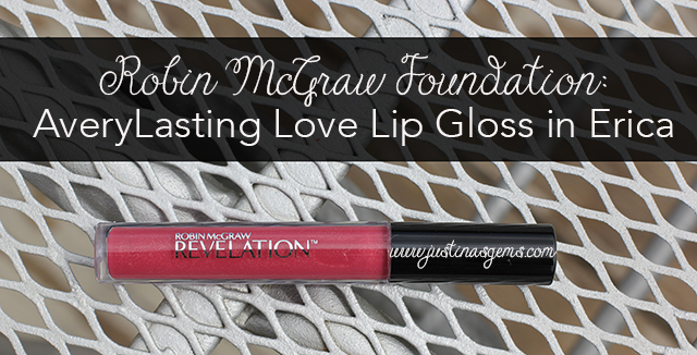 robin mcgraw erica lip gloss