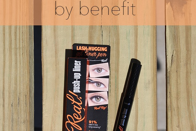 they're real push up liner pen, benefit