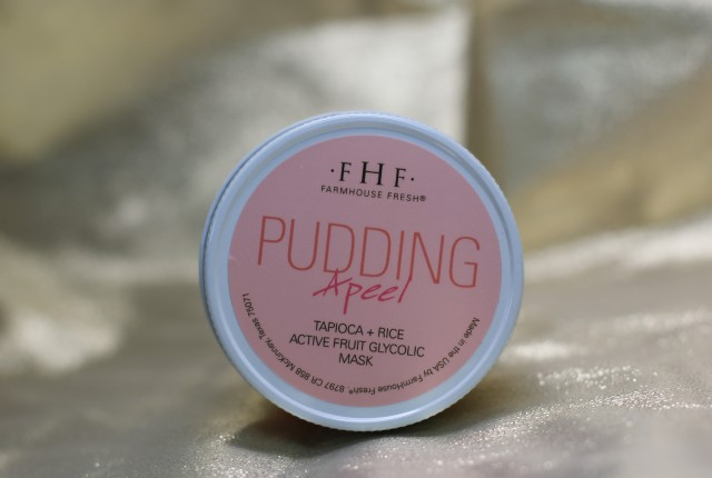 farmhouse fresh pudding peel natural glycolic mask