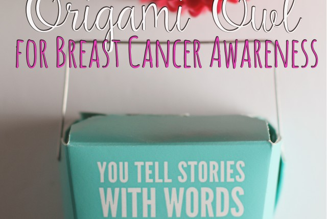 breast cancer awareness origami owl