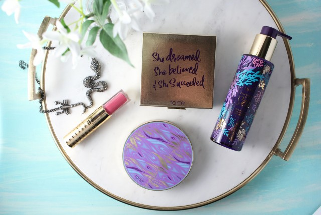 Tarte 2016 spring launches, double duty beauty, rainforest of the sea