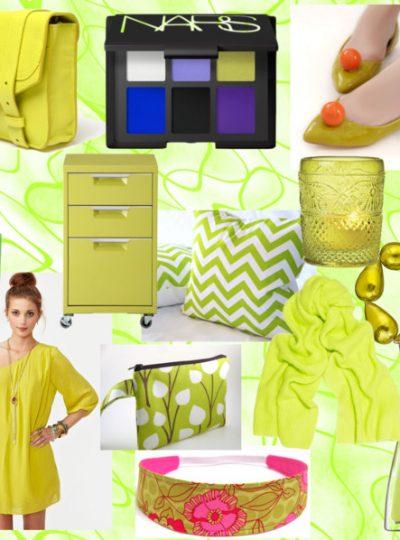 Pantone Fall Color Report 2012- Bright Chartreuse