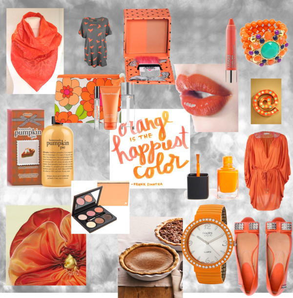 Pantone Fall Color Report 2012- Tangerine Tango