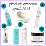 April 2013 Empties