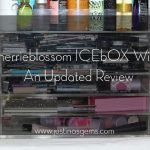 My Makeup Organization- Sherrieblossom Icebox Review- Updated June 2014