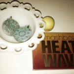Smash Box Heat Wave Palette & EOS Lip Balm in Lemon Drop- Summer Must Have Makeup