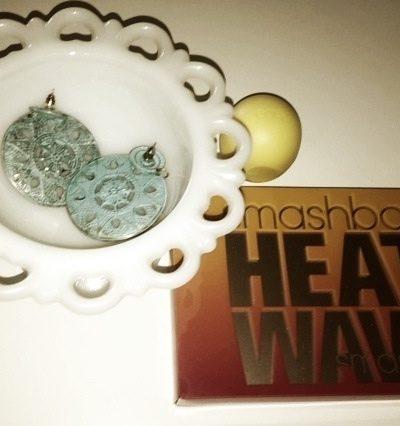 Smash Box Heat Wave Palette & EOS Lip Balm in Lemon Drop- Summer Must Have Makeup