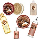 The Body Shop's Brazil Nut Line- Shower Creams, Scrubs, Beautifying Oil, Body Butters, and Fragrances!