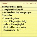 Fitness Friday- Fitness Goals & Green Beans