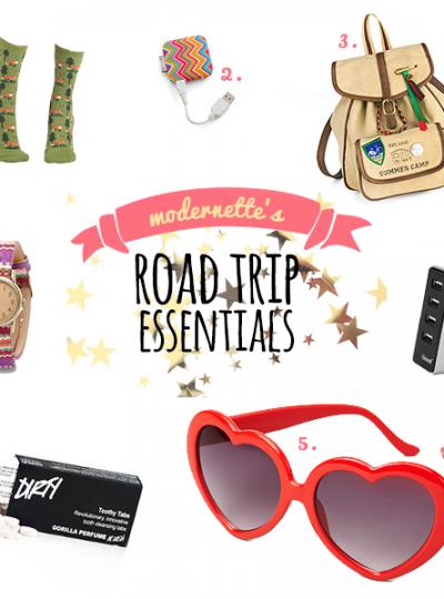 Modernette's Road Trip Essentials