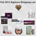 Fall 2013 Shopping List Ideas for Sephora & Giveaway