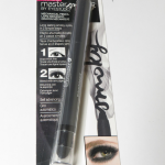 Maybelline EyeStudio Master Smoky Mechanical Eyeshadow Pencil in Smoking Charcoal- Review and Swatch