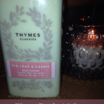Thymes Fig Leaf & Cassis Lotion