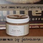 Farmhouse Fresh Triple Shot Caramel Coffee Caffeine- Infused Shea Butter Body Polish