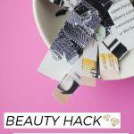 Beauty Hack: DIY Wax Strips