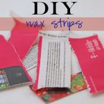 Beauty Hack: DIY Wax Strips