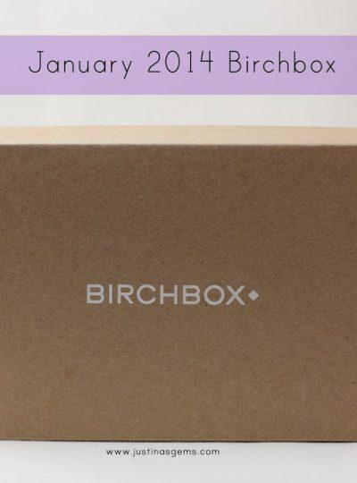 January 2014 Birchbox & Giveaway
