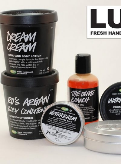Keeping Skin Hydrated with LUSH