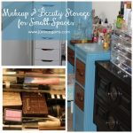 Makeup & Beauty Storage for Small Spaces