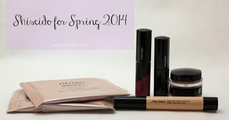 Shiseido for Spring 2014