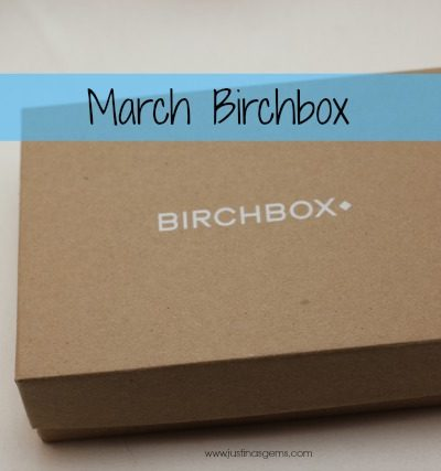 Birchbox March 2014 & Giveaway