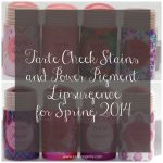 Tarte Cheek Stains and Power Pigment Lipsurgence for Spring 2014
