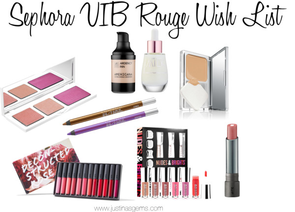 VIB Rouge Sale- A Wishlist