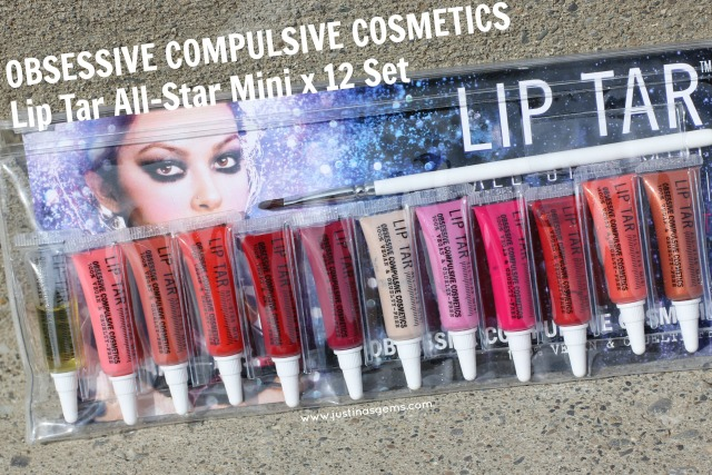 occ lip tar all star mini x 12 set