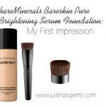 bareMinerals Bareskin Pure Brightening Serum Foundation: My First Impression