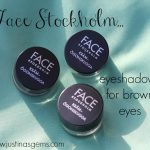 Face Stockholm- Creme Eyeshadows for Brown Eyes