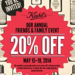 Kiehl's Rare Earth Deep Pore Cleansing Mask & a Friends and Family Coupon!