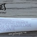 Korres Pomegranate Mattifying Primer Review