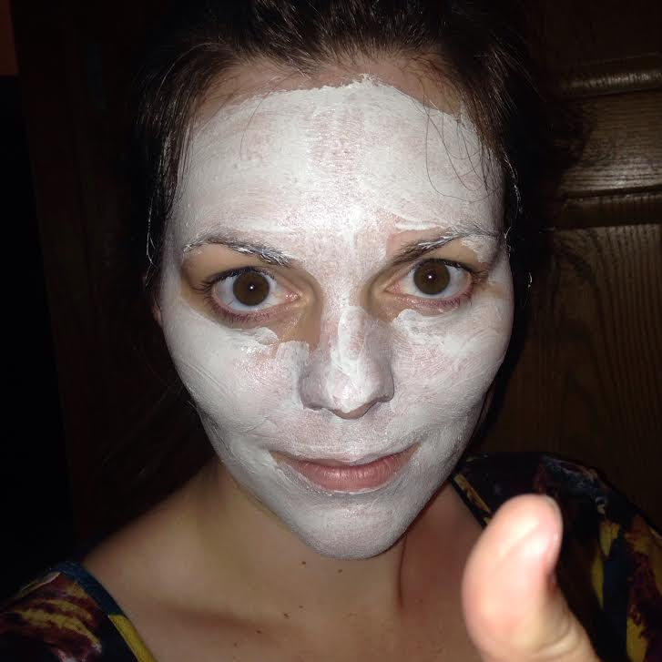 me in face mask