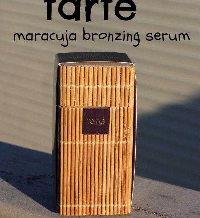 Tarte Maracuja Bronzing Serum Review