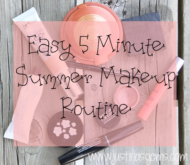 easy 5 minute makeup look