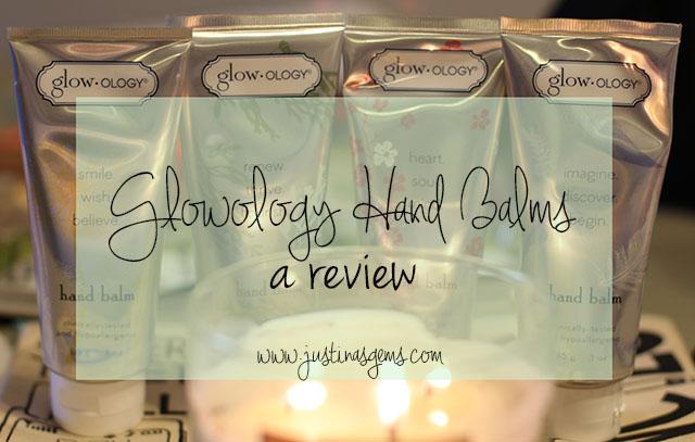 glowology hand balm review