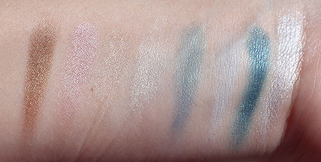 island eyes eyeshadow palette swatches