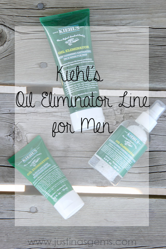 kiehl's oil eliminator line for men