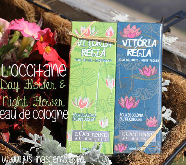 l'occitane day flower and night flower eau de cologne