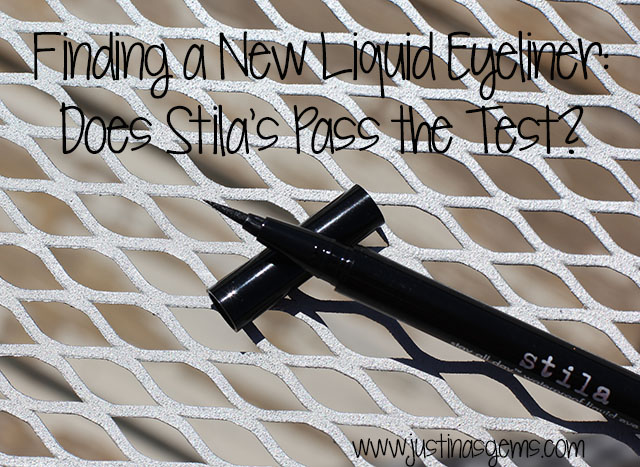 Finding a New Liquid Eyeliner- Does Stila Pass the Test?