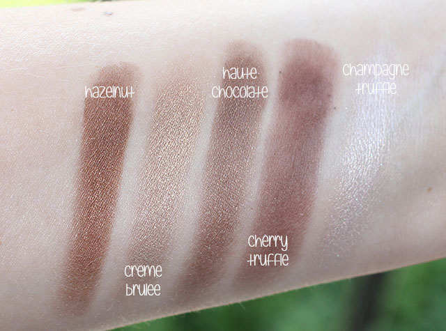 too faced chocolate bar swatches 3