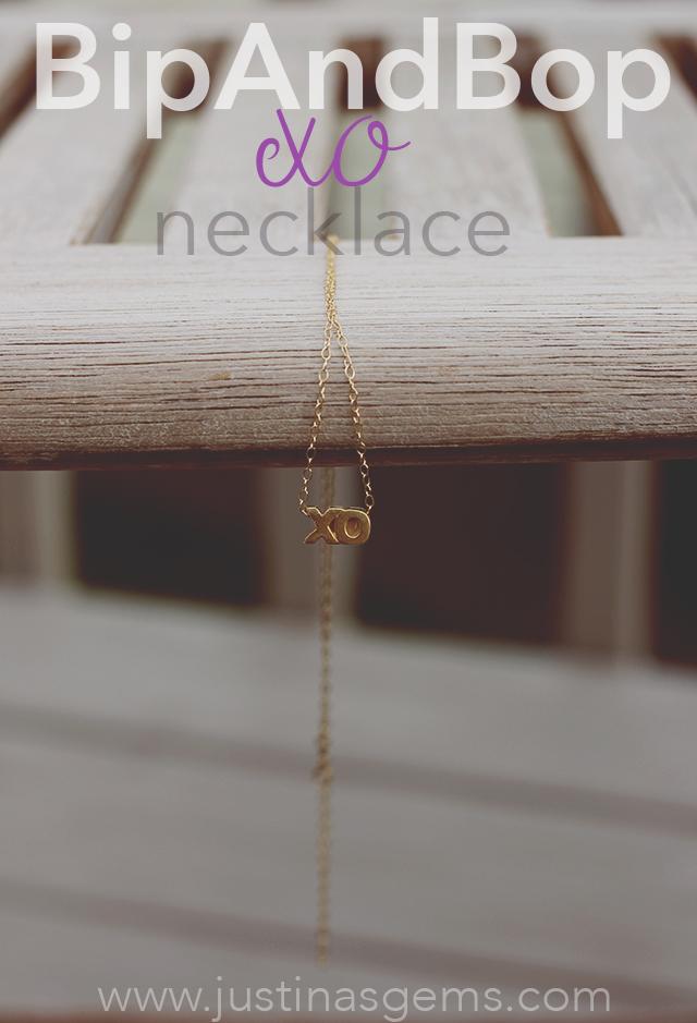 bipandbop xo necklace