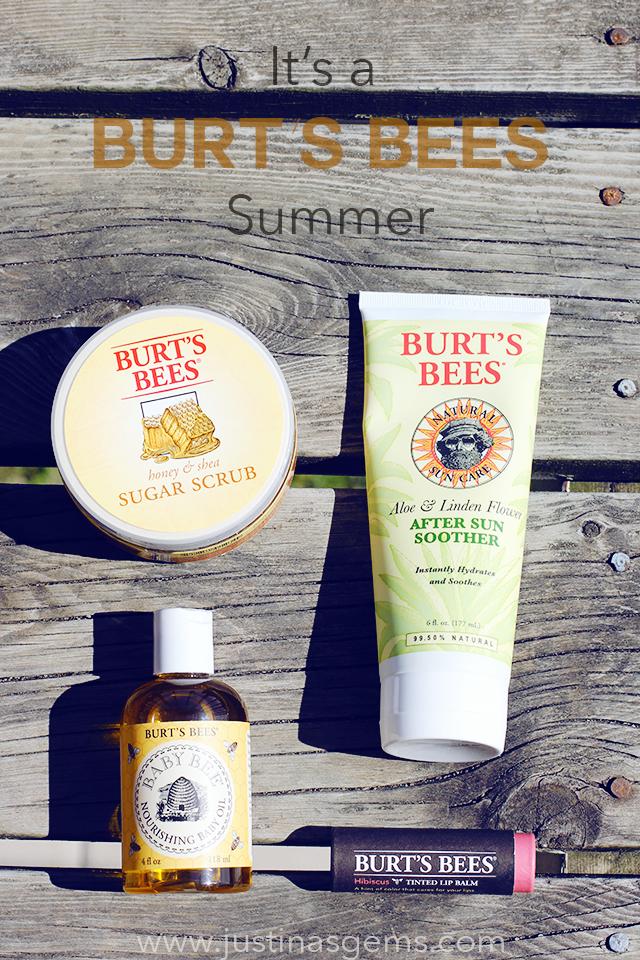 burt's bees summer