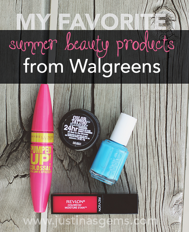 favorite summer beauty products from walgreens