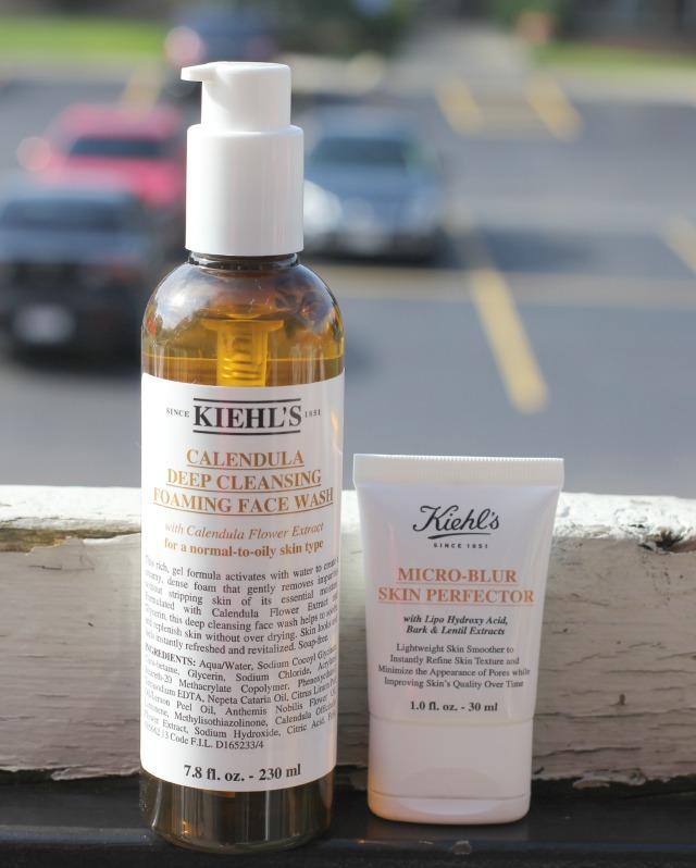 kiehl's calendula face wash, micro-blur skin perfector.jpg