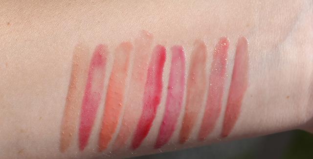 lipsurgence swatches