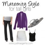 Maternity Style for Tall Girls