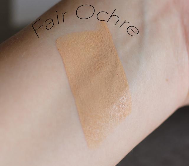 shiseido fair ochre