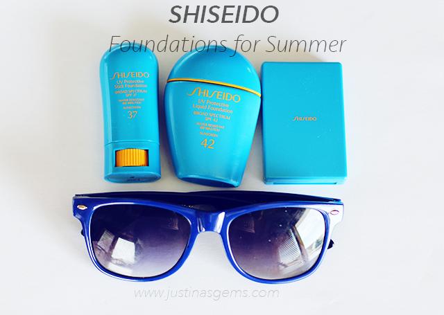 Shiseido Foundations for Summer