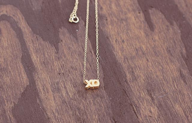 xo necklace 2